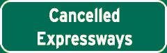 Cancelled Expressways